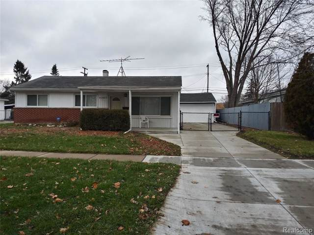 1287 Hawthorne St, Ypsilanti, MI 48198 (MLS #R219120050) :: Berkshire Hathaway HomeServices Snyder & Company, Realtors®