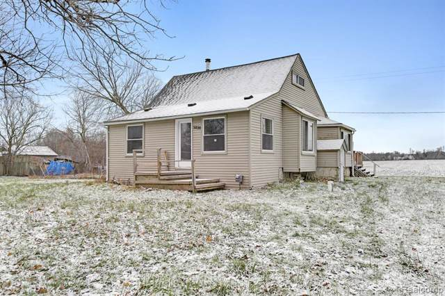 5020 Center Rd, Linden, MI 48451 (MLS #R219120120) :: Berkshire Hathaway HomeServices Snyder & Company, Realtors®