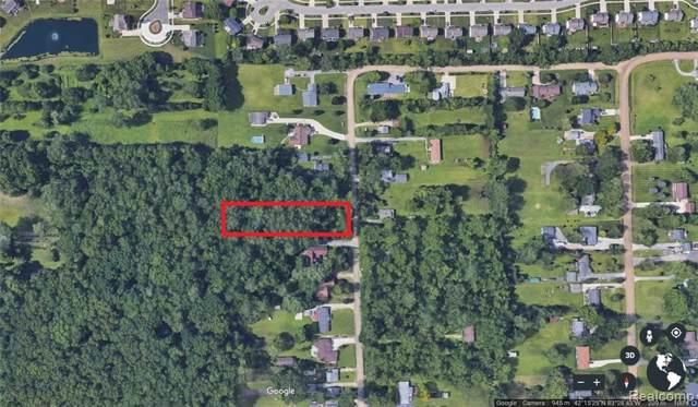0 Edwards Rd, Belleville, MI 48111 (MLS #R219120252) :: Berkshire Hathaway HomeServices Snyder & Company, Realtors®