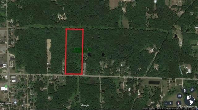 0 Willis Rd, Belleville, MI 48111 (MLS #R219120260) :: Berkshire Hathaway HomeServices Snyder & Company, Realtors®