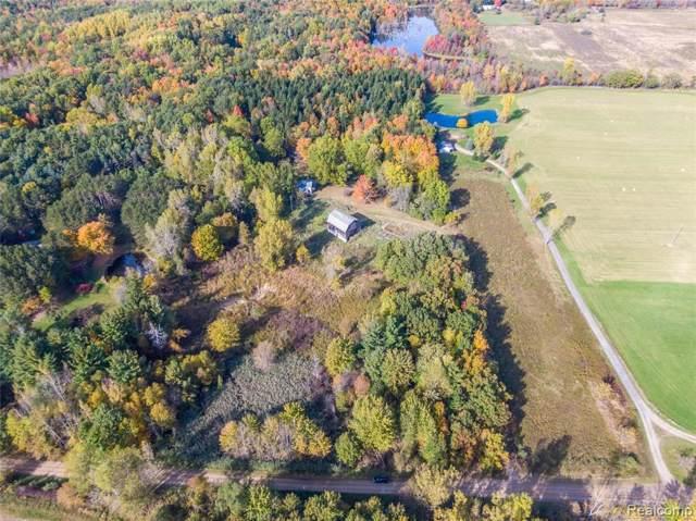 5146 Aurand Rd, Otter Lake, MI 48464 (MLS #R219121018) :: Berkshire Hathaway HomeServices Snyder & Company, Realtors®