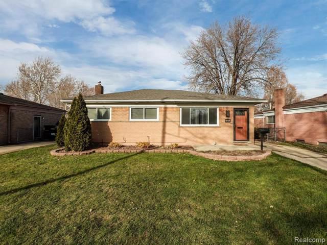 13641 Matilda Ave, Warren, MI 48088 (MLS #R219121566) :: Berkshire Hathaway HomeServices Snyder & Company, Realtors®