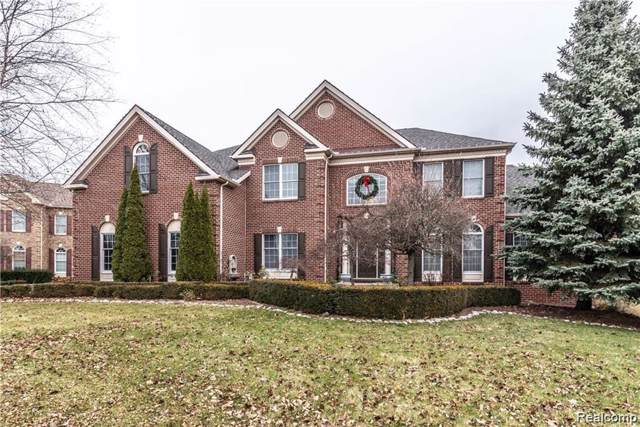 16020 Crystal Downs, Northville, MI 48168 (MLS #R219121623) :: Berkshire Hathaway HomeServices Snyder & Company, Realtors®