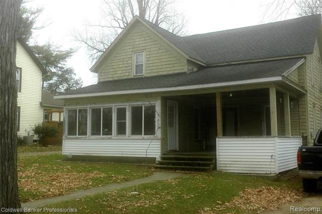 216 N Monroe St, Lapeer, MI 48446 (MLS #R219121967) :: Berkshire Hathaway HomeServices Snyder & Company, Realtors®