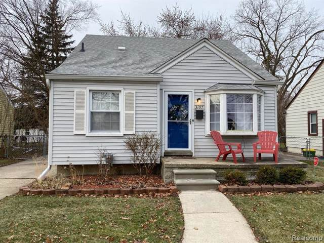 3107 N Wilson Ave, Royal Oak, MI 48073 (MLS #R219122247) :: Berkshire Hathaway HomeServices Snyder & Company, Realtors®