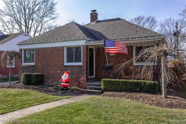 2519 Thomas Ave, Berkley, MI 48072 (MLS #R219122276) :: Berkshire Hathaway HomeServices Snyder & Company, Realtors®