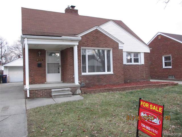 1531 Winchester Ave, Lincoln Park, MI 48146 (MLS #R2200001321) :: Berkshire Hathaway HomeServices Snyder & Company, Realtors®