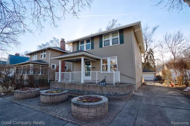 547 W Saratoga St, Ferndale, MI 48220 (MLS #R2200002165) :: Berkshire Hathaway HomeServices Snyder & Company, Realtors®