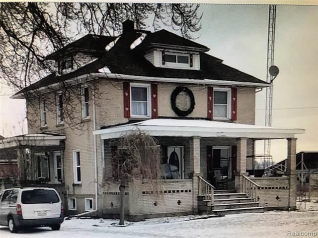 7819 Peck Rd, Marlette, MI 48453 (MLS #R2200003511) :: Berkshire Hathaway HomeServices Snyder & Company, Realtors®