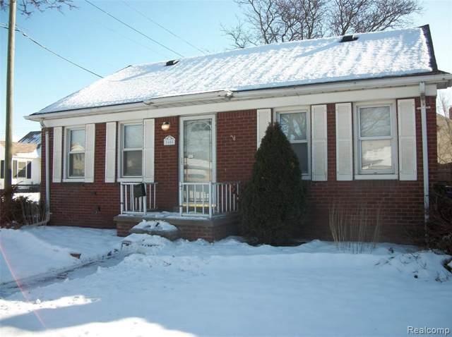 1605 Lafayette Blvd, Lincoln Park, MI 48146 (MLS #R2200005121) :: Berkshire Hathaway HomeServices Snyder & Company, Realtors®