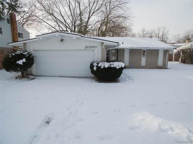21590 Concord Crt, Southfield, MI 48076 (MLS #R2200005240) :: Berkshire Hathaway HomeServices Snyder & Company, Realtors®