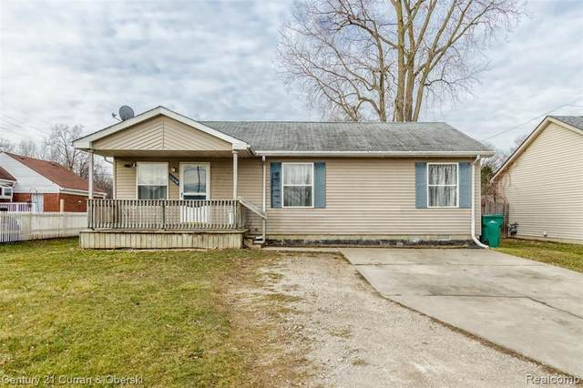 11634 Gabriel St, Romulus, MI 48174 (MLS #R2200010783) :: Berkshire Hathaway HomeServices Snyder & Company, Realtors®
