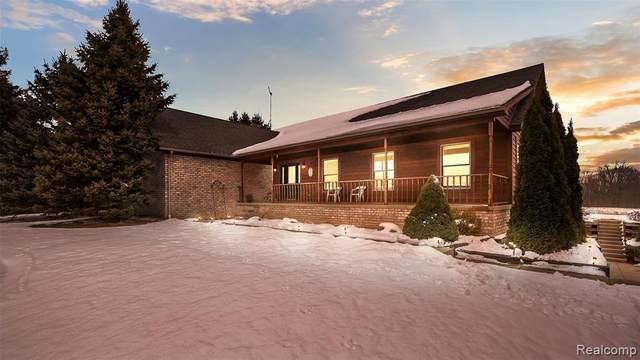 1590 House Road, Webberville, MI 48892 (MLS #R2200011607) :: Berkshire Hathaway HomeServices Snyder & Company, Realtors®