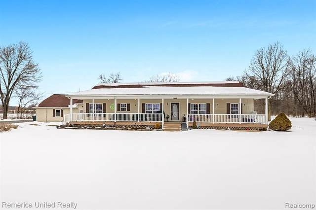 10772 Odell Rd, Fowlerville, MI 48836 (MLS #R2200012985) :: Berkshire Hathaway HomeServices Snyder & Company, Realtors®
