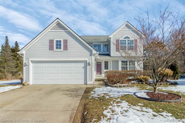 1616 Brookside Crt, Wixom, MI 48393 (MLS #R2200014389) :: Berkshire Hathaway HomeServices Snyder & Company, Realtors®