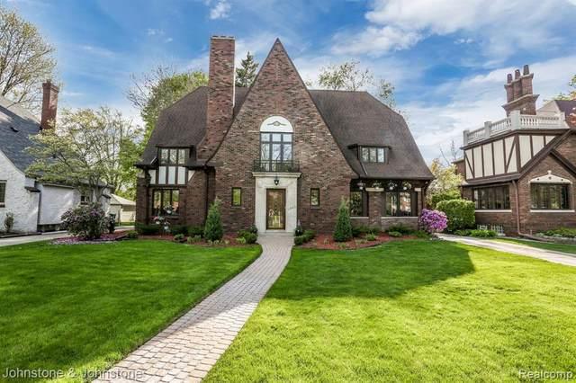 1245 Three Mile Dr, Grosse Pointe Park, MI 48230 (MLS #R2200023661) :: Berkshire Hathaway HomeServices Snyder & Company, Realtors®
