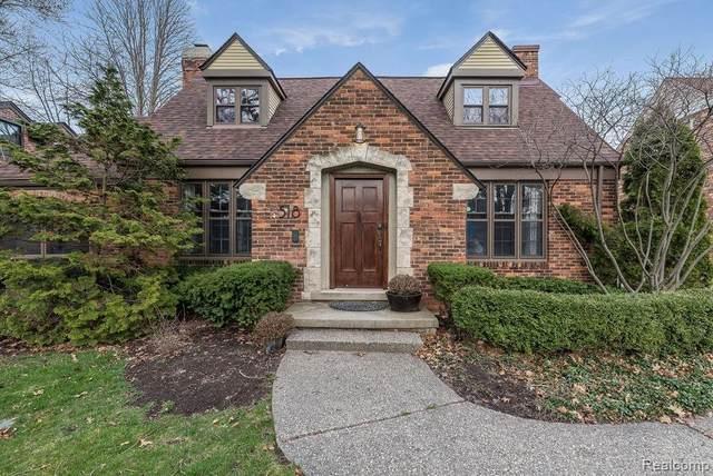 518 Barrington Rd, Grosse Pointe Park, MI 48230 (MLS #R2200023947) :: Berkshire Hathaway HomeServices Snyder & Company, Realtors®