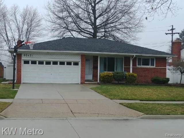 33431 Groth Dr, Sterling Heights, MI 48312 (MLS #R2200024464) :: Berkshire Hathaway HomeServices Snyder & Company, Realtors®