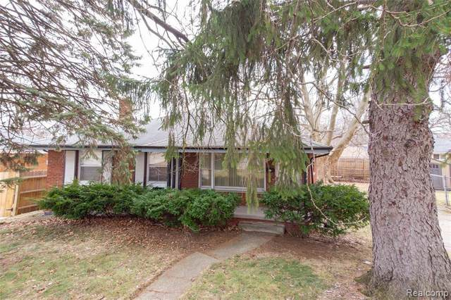 20587 Woodbine St, Detroit, MI 48219 (MLS #R2200025209) :: Berkshire Hathaway HomeServices Snyder & Company, Realtors®