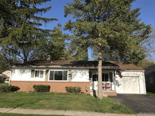 501 Maywood St, Chelsea, MI 48118 (MLS #R2200031453) :: Berkshire Hathaway HomeServices Snyder & Company, Realtors®