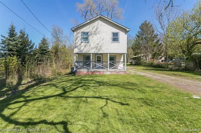17435 Huron River Dr, New Boston, MI 48164 (MLS #R2200033257) :: Berkshire Hathaway HomeServices Snyder & Company, Realtors®