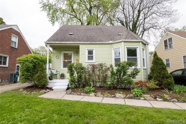 218 N Rembrandt Ave, Royal Oak, MI 48067 (MLS #R2200034692) :: Berkshire Hathaway HomeServices Snyder & Company, Realtors®