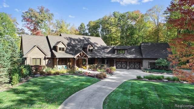 13069 Sleigh Trl, Milford, MI 48380 (MLS #R2200034868) :: Berkshire Hathaway HomeServices Snyder & Company, Realtors®