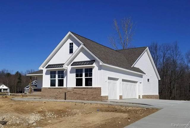 2360 Walnut View Drive (Homesite 29, Howell, MI 48855 (MLS #R2200035324) :: Berkshire Hathaway HomeServices Snyder & Company, Realtors®