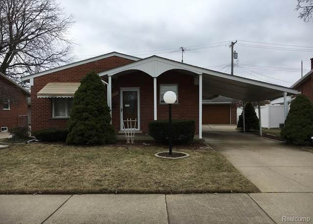 27159 Terrell St, Dearborn Heights, MI 48127 (MLS #R2200035458) :: Berkshire Hathaway HomeServices Snyder & Company, Realtors®