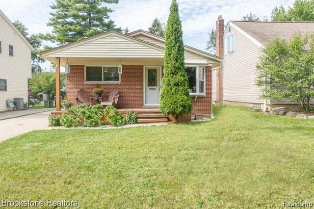 3347 Prairie Ave, Royal Oak, MI 48073 (MLS #R2200036199) :: Berkshire Hathaway HomeServices Snyder & Company, Realtors®