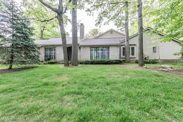 1350 Timberview Trl, Bloomfield Hills, MI 48304 (MLS #R2200037011) :: Berkshire Hathaway HomeServices Snyder & Company, Realtors®