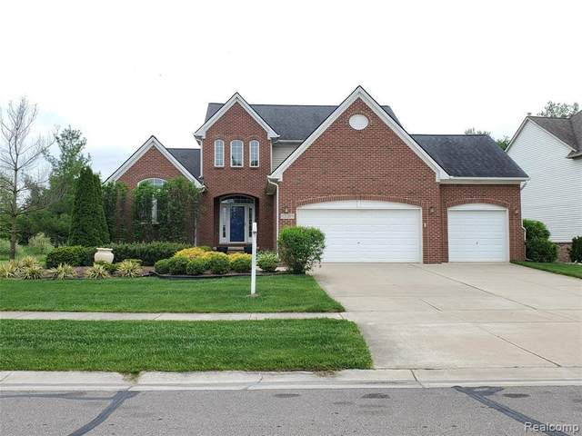 57083 Blossom Valley Trl, New Hudson, MI 48165 (MLS #R2200037776) :: Berkshire Hathaway HomeServices Snyder & Company, Realtors®
