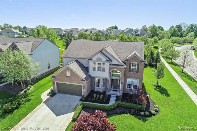 24362 Peters Barn Crt, South Lyon, MI 48178 (MLS #R2200037868) :: Berkshire Hathaway HomeServices Snyder & Company, Realtors®