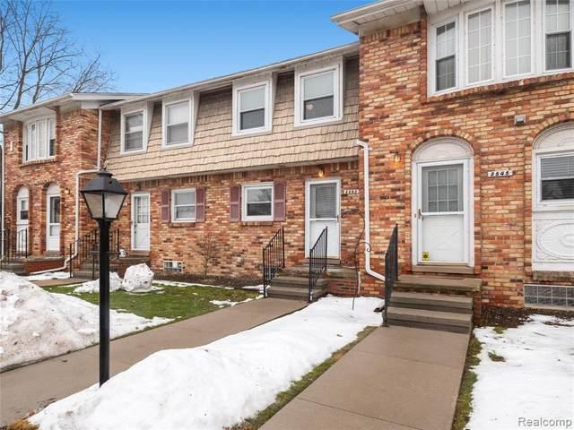 2543 Kingstowne Dr, Commerce, MI 48390 (MLS #R2200037897) :: Berkshire Hathaway HomeServices Snyder & Company, Realtors®