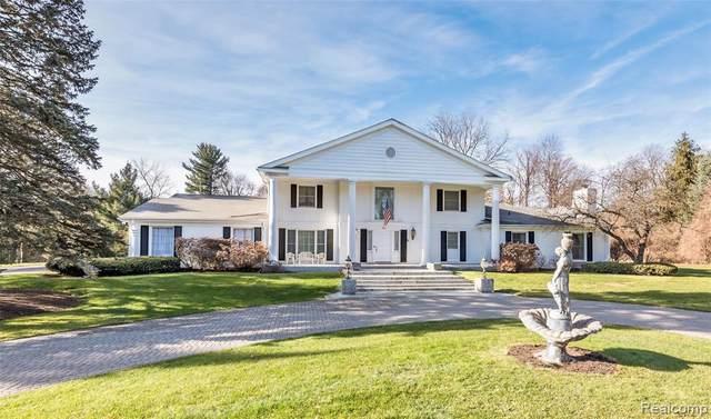 246 Barden Rd, Bloomfield Hills, MI 48304 (MLS #R2200038040) :: Berkshire Hathaway HomeServices Snyder & Company, Realtors®
