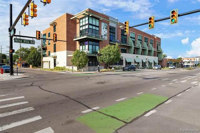 211 E 9 Mile Rd Unit 309B Rd, Ferndale, MI 48220 (MLS #R2200050983) :: Berkshire Hathaway HomeServices Snyder & Company, Realtors®