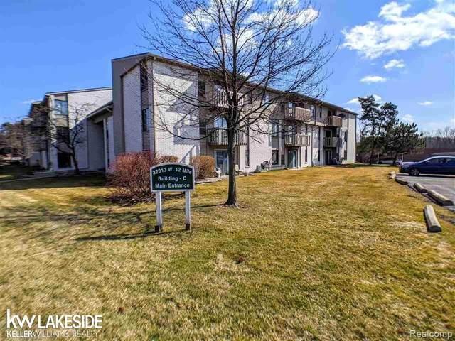 32013 W 12 Mile Rd Unit 113, Farmington Hills, MI 48334 (MLS #R2200051192) :: Berkshire Hathaway HomeServices Snyder & Company, Realtors®