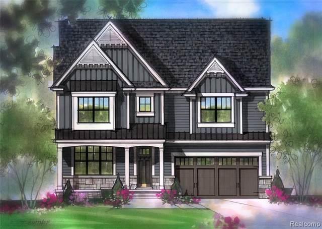 415 Edmund Ave, Royal Oak, MI 48073 (MLS #R2200051202) :: Berkshire Hathaway HomeServices Snyder & Company, Realtors®