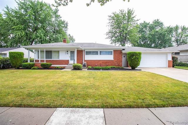 22506 Thomson St, Clinton Township, MI 48035 (MLS #R2200051539) :: Berkshire Hathaway HomeServices Snyder & Company, Realtors®
