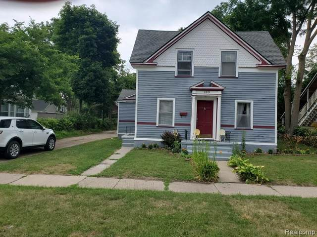 309 S Washington St, Ypsilanti, MI 48197 (MLS #R2200053703) :: Berkshire Hathaway HomeServices Snyder & Company, Realtors®