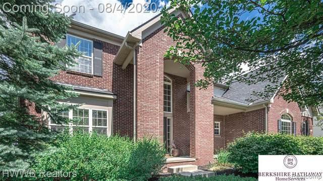 1367 Drury Ln, South Lyon, MI 48178 (MLS #R2200059705) :: Berkshire Hathaway HomeServices Snyder & Company, Realtors®