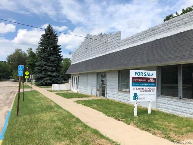 120 N Main St, Webberville, MI 48892 (MLS #R2200059768) :: Berkshire Hathaway HomeServices Snyder & Company, Realtors®
