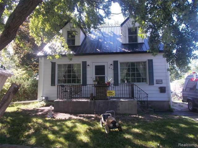 666 Maple St, Mount Morris, MI 48458 (MLS #R2200060018) :: Berkshire Hathaway HomeServices Snyder & Company, Realtors®