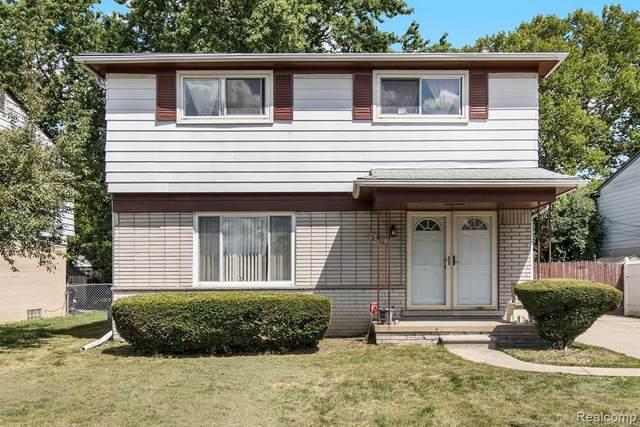 18528 Hilton Dr, Southfield, MI 48075 (MLS #R2200060226) :: Berkshire Hathaway HomeServices Snyder & Company, Realtors®