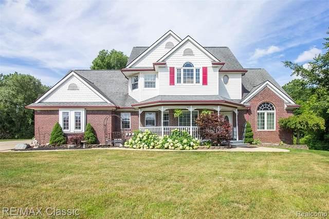 61177 Allen Dr, South Lyon, MI 48178 (MLS #R2200060448) :: Berkshire Hathaway HomeServices Snyder & Company, Realtors®