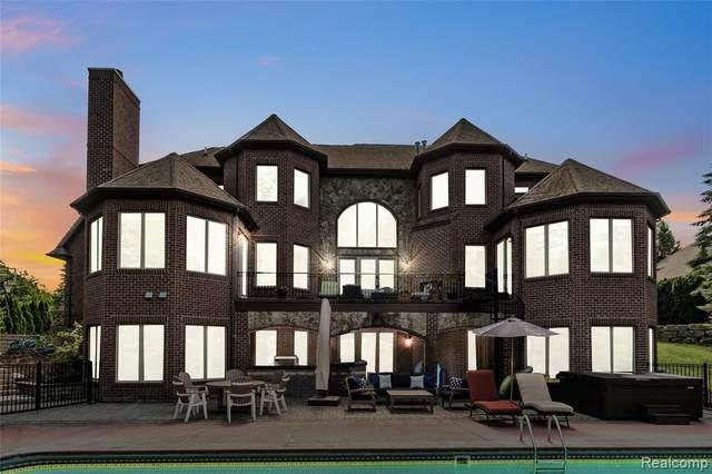 8216 Pine Hollow Trl, Grand Blanc, MI 48439 (MLS #R2200063242) :: Berkshire Hathaway HomeServices Snyder & Company, Realtors®