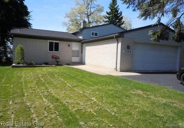 3599 Coseyburn Rd, Waterford, MI 48329 (MLS #R2200063900) :: Berkshire Hathaway HomeServices Snyder & Company, Realtors®