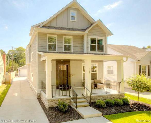 524 Bird Ave, Birmingham, MI 48009 (MLS #R2200063909) :: Berkshire Hathaway HomeServices Snyder & Company, Realtors®