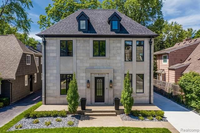 355 Baldwin Rd, Birmingham, MI 48009 (MLS #R2200064807) :: Berkshire Hathaway HomeServices Snyder & Company, Realtors®