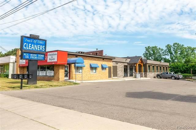 1150 Ann Arbor Rd, Plymouth, MI 48170 (MLS #R2200069621) :: Berkshire Hathaway HomeServices Snyder & Company, Realtors®